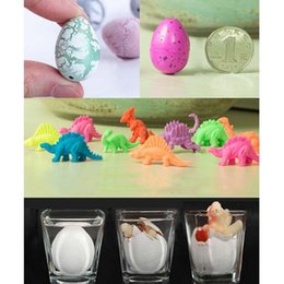 Wholesale 1 Magic Water Growing Egg Hatching Colorful Dinosaur Add Cracks Grow Eggs Cute Children Kids Toy For Boys novelty toy