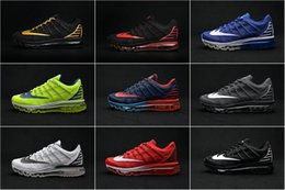 Wholesale 12Color Drop Shipping Cheap Famous Air KPU Mens Running Shoes Max Sneaker Trainers size