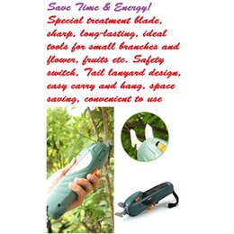 Wholesale V Rechargeable Electric Scissor Branch Cutter Garden Power Tool trim small branches and flower