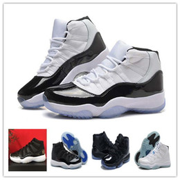 Wholesale 2016 Gamma Blue basketball shoes XI Athletic Shoes Retro BRED sports shoes Sneakers factory store With Box Basketball Shoes Retro XI