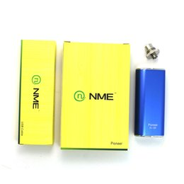 Wholesale vape mods thread battery Pioneer N w mod Simple kit fit vs topbox mini w aspire with USB charger cable authentic