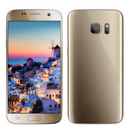 Promotion caméra verre usb Metal Frame Dual Glass Goophone S7 1: 1 Clone 3G WCDMA Quad Core MTK6580 1.3GHz 512 Mo 4 Go 5.1 pouces IPS 960 * 540 qHD 8.0MP Appareil photo Smartphone