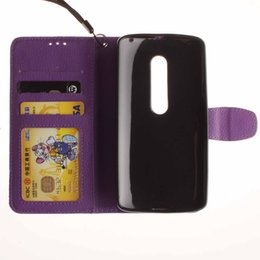 Lechee Photo Frame Credit card Wallet Stand leather case cover FOR MOTOROLA MOTO G3 G4 PLAY X PLAY Alcatel One Touch Pop C5 C7 50PCS LOT