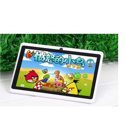 Wholesale 7 Inch Quad Core Tablet PC ARM Cortex A7 Android GB RAM GB ROM Dual Camera mAh Battery Tablet PC khl7088