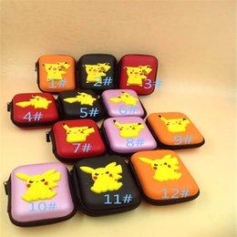 Compra Online Bolsas de bolsillos-2016 Mini Asistente para nuevo empuje Pikachu de dibujos animados con estilo Mini auricular bolso de la moneda del bolsillo de bolsillo de la carpeta XL-B08