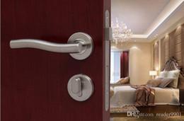 2016 new promotion for stainless steel 304 wave shape lever  room door handle 0.4kg per pair door hardware outdoor lock#57