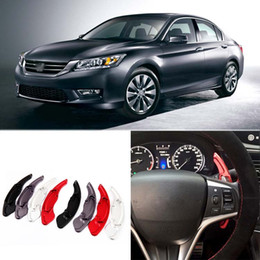Wholesale Can Change car styling New Alloy Add On Steering Wheel DSG Paddle Shifters Extension For Honda Accord
