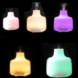 500ml Essential Oil Diffuser Aromatherapy Diffuser Ultrasonic Cool Mist Humidifier with AUTO Shut off Function LED Lights ST-169S