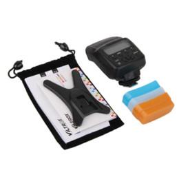 Compra Online A7r sony-Nueva JY-610II mini LCD flash Speedlite para Olympus E-P5 Sony A7R A3000 A6000 NEX6 Speedlite de Canon