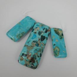 Free Shipping High Quality Natural Aqua Gems Stone Emperor Beads Freeform Imperial Jasper Beads Slice Beaded Women Jewelry Make Wholesale