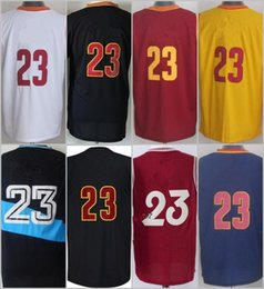 Wholesale 2016 Stitched Basketballl Jerseys Jam es White Blue Black Red Yellow Jersey accept Mix Order do dropshipping Rev Embroidery