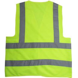 Reflective Safety Clothing Worker Clean sanitation highway road traffic reflective warning vest high light reflective vests