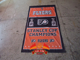 Flyers Football Clubhouse banner,Free shipping,100% polyester 90*150cm,light high-grade fabrics,Digital Printing,Flyers flag