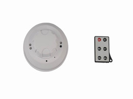 Enregistrement vidéo cachée en Ligne-720P DVR Night Vision Smoke Alarm Surveillance Télécommande caméra cachée enregistrement vidéo, détection de mouvement de Long temps de travail