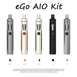 Original Joyetech eGo AIO Kit With 2.0ml Capacity 1500mAh Battery Anti-leaking Structure Childproof Lock All-in-one style E-cigarette Kits