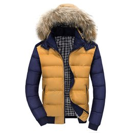 Wholesale Fall New Winter Men s High Collar Casual Cotton Mens Winter Canada Down Jacket Men Winter Parka Famous Brand