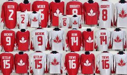 Wholesale Men s Jonathan Toews Duncan Keith Shea Weber Drew Doughty Matt Duchene Jamie Benn Ryan Getzlaf world cup of Hockey WCH stitched jersey