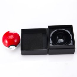 Wholesale Sweet Gift Box with3 parts Poke Ball Animal Image mm diameter Herb Zinc Alloy Metal Grinders