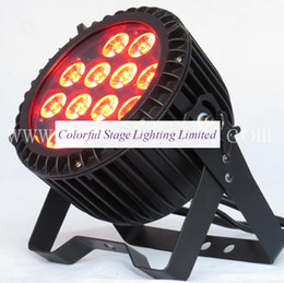 Free shipping Factory direct UL Listed 12X18W 6 in 1 RGBAW UV LED IP 65 Outdoor Rating PAR Lighting