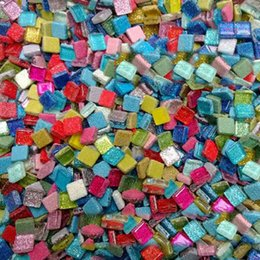 Wholesale Gram Glitter mosaic beads Mosaic art Marble mosaic Craft material DIY hobby DIY accessories cm