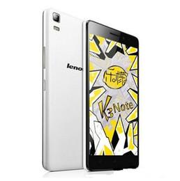 Pour Lenovo K3 Note K50-T5 Teana Android 5.0 Téléphone Mobile MTK6752 Octa Core 1.7G double SIM 4G FDD LTE 5.5