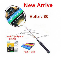 VT-80 Badminton Racket New Voltric 80 Badminton Racket Carbon Fibre Rackets JP Version High Quality VT 80 badminton racket
