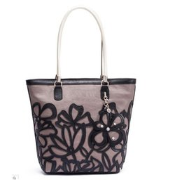 Wholesale fashion women shoulder bag pu leather Handbag flora design NWT bag SKUGU036
