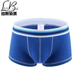 Wholesale Cheapest Male Underwear - Hot Selling 2016 Cheap New Cotto Best Quality Brands Fashion Sexy Men's Boxers Shorts Cotton Underwear Male Rise Bulge Pouch Boy Underpants