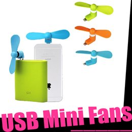 Wholesale 2016 New Arrival Hot Sale for iPhone iPad Mobile Phone Interface Mini Portable Fan Factory Direct