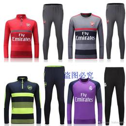 Wholesale NEW football training suit Best Quality Arsenal tracksuits Madrid training training suit Jogging suit