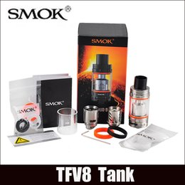 Wholesale Smok TFV8 Atomizer clone Smoktech TFV8 Cloud Beast Tank With V8 T8 V8 Q4 Coil Head Best Updated TFV4 Tank