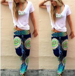 Wholesale Women Harem Aladdin Casual Wide Leg Gypsy Yoga Long Pants Palazzo Trousers Baggy Brand New Good Quality