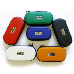 Top quality Ego Zipper Case Ego Leather Case Bag Electronic Cigarette Carry Bag with Multi colors