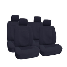 Wholesale Polyester Velour Car Seat Covers OEM Jacquard Anti Dirt Anti Mud Universal Size Front Car Accessories for Jeep