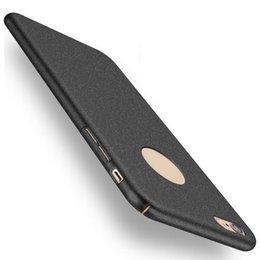 Wholesale Luxury Ultra thin Scrub Full Body Hard Matte Back Case Cover For Apple iPhone Plus S Plus Black