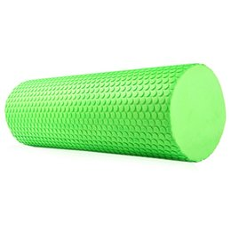Wholesale inches Eva Yoga Pilates Foam Roller Body Massage Gym Fitness with Trigger Points Muscle Relaxation Yoga Roller