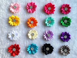 40pcs lot Dog Hairpin pet dog hair bows clip petal flowers bows pet dog grooming bows dog hair accessories product