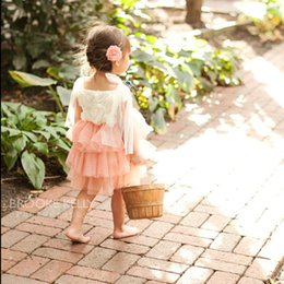 Flower Girl Dress, Ivory and Coral Flower Girl Dress, Sparkle Dress Girls, Blush Girls Dress, Baby Girl Party Dress, Sparkle Princess Dress
