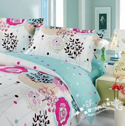 Wholesale Comforter Wedding Twill - 100% cotton home textile twill Superman 200TC Bedding set Bedclothes Duvet cover bed Comforter cover 4pcs beautiful wedding S14