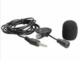 Wholesale New Arrive M Mini mm Hands Free Clip On Mini Mic Microphone For PC Notebook Laptop MSN