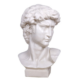 Wholesale Greatly Venus Head Sculpture Crafts Large Head American Style Figure Display Statue Sculpture Crafts with Marble Sandstone