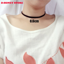 2016 collares Vintage Stretch Tattoo Choker Necklace Retro Gothic Elastic collier femme maxi Necklaces for women girl