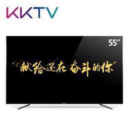 Wholesale kktv K liquid crystal Television kernel Intelligence WIFI Flat Color TV inches