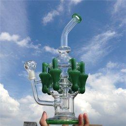 Acheter en ligne Gb pouces-Le tube de l'eau de bong du gass de recyclage d'arrivée le plus récent pour l'usage quotidien de fumer avec l'articulation mâle de 13 pouces 14mm (ES-GB-061)