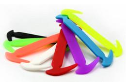Lazy shoelace No Tie Shoelaces Elastic Silicone Shoe Lace All Sneakers Fit Strap 12Pc Set