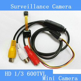 Industrial, medical 5MP HD 600TVL mini surveillance camera module smallest micro-camera module is only 6.5 * 6.5*4mm pinhole camera cctv cam