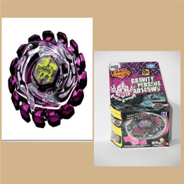 Wholesale BEYBLADE METAL FUSION purple Poison Zurafa Giraffe S130MB Without Launcher for Children Gift outdoor sport toys