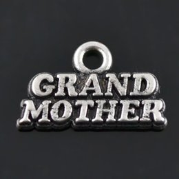 Fashion Alloy Family Charms Grand Mother Vintage Finding Charms For Mother's Day AAC1157