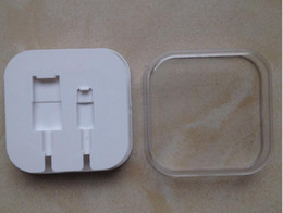 Plastic Retail Boxes Gift Package For Iphone5 5s 6 Cable Also Have Box For Iphone4 4s good quality