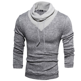 Wholesale Hot sale New fashion mens sweaters man pullover turtleneck sweater T shirts apparel Men s Clothing